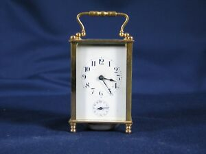 Antique French Carriage Clock With Alarm