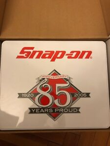 New W Box Snap On 5 Piece Red Hard Handle 85th Anniversary Screwdriver Set