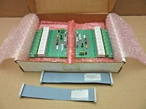 National Instruments Sc 2062 8 channel Relay Output Board W cable Lot Of 2
