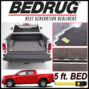 Bedrug Classic Truck Bed Mat For 2015 2020 Chevy Colorado Fits 5 Ft Bed