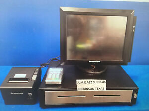 Revention Pos System 5 Workstations epson Printer card Acceptor