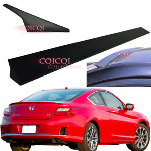 Unpainted Honda 2013 2017 Accord Coupe 9th Generation V1 Type Roof Spoiler