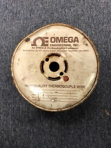500 Omega Omega Thermocouple Wire Stranded Old Stock Free Shipping