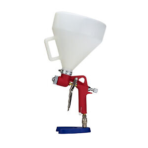 Bully Bed Liner Textured Gravity Spray Gun 3 Size Nozzles 1 5 Gallons Hopper
