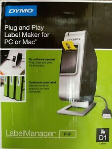 Dymo Label Manager Plug And Play Label Maker For Pc And Mac Pnp D1 Labels