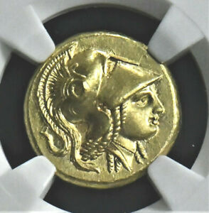 Aphrodite Ngc Certified Magnificent Alexander Iii The Great Gold Stater
