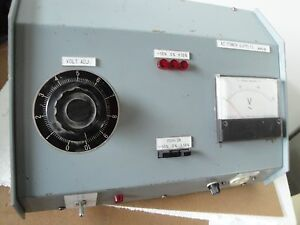 0 120vac Variable Ac Power Supply 300va Variac Powerstat Auto Transformer