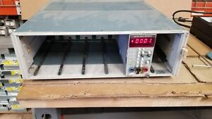 Tektronix Tm506 6 slot Mainframe Good Unit