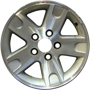 Chrome Plated 5 Spoke 16x7 Factory Wheel 2005 2005 Ford Explorer Sport Trac