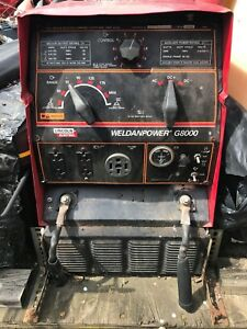 Lincoln Wpg8000 Weldanpower G8000 Welder Generator 16 Hp Towable