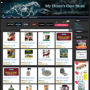 Horse Care Store Make Money Fast Dropship Online Business Website Work At Home