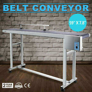 Electric 59 X 7 8 Pvc Belt Conveyors Conveyor Systems Industrial