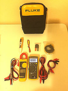 Fluke 116 323 Electrician Kit With Accessories And More Nice
