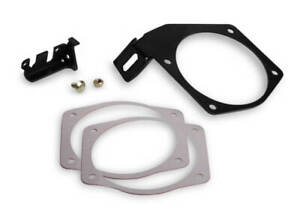 Holley 20 148 Black Chevy Ls Anodized Aluminum Throttle Body Cable Bracket 105mm