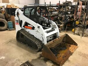 2011 Bobcat T190 Track Skid Steer Excellent Condition