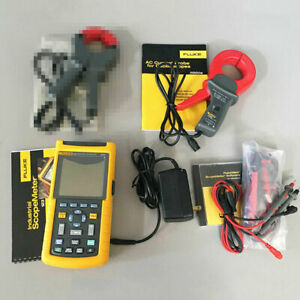 Fluke 123 20 Mhz Scopemeter Ac Clamps Probes Manuals Software