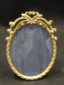 Antique Small Oval Picture Frame