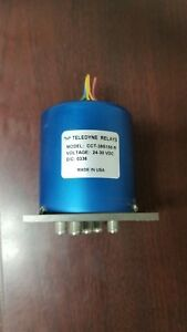 Teledyne Cct 38s150 r Relay rf Coaxial Switch