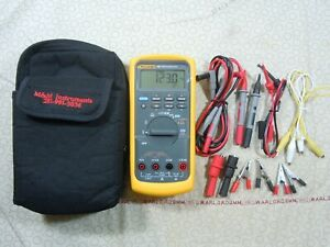 Fluke 787 Processmeter Kit With Accessories Free Case 57990 480702