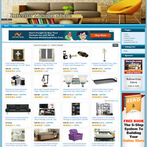 Interior Design Easy Operate Great Income Internet Home Based Business Website