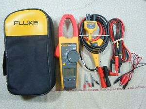 Fluke 376 True Rms Clamp Meter Kit With Iflex Probe Leads Fluke Case 57983