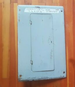 Electric Circuit Breaker Panel Box Cover Ite Siemens Murray missing Latch