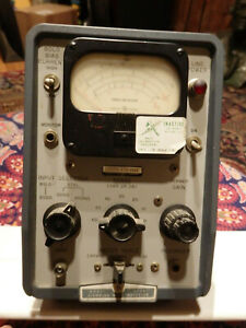 Hp Hewlett packard 415b Standing Wave Indicator With Manual