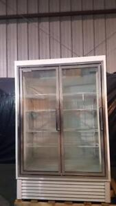 Hussmann Hgl 2 bs Low Temp Glass Door Merchandiser Freezer