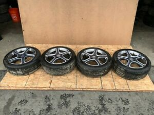 14 19 Mercedes Cla250 W117 17 Inch Wheel Wheels And Tires Set Of 4 17x7 5 Oem