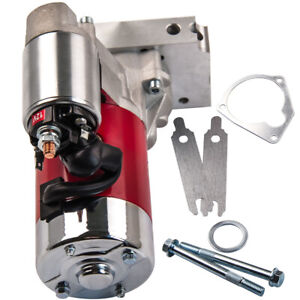 Red Starter Motor For 153 Or 168 Chevy Gm Hd Mini 3hp 305 350 454 New
