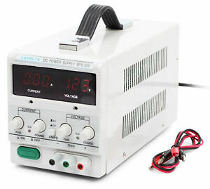 Lavolta Bps305 Variable Linear Adjustable Lab Dc Bench Power Supply 0 30v 0 5a