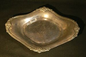 Barton And Reed Silver Soldered 8 Serving Tray The Raleigh