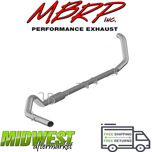 Mbrp 4 Turbo Back Exhaust System Fits 1999 2003 Ford F250 F350 7 3l Powerstroke