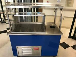 Hershey s 6 Well Low Temp Ice Cream Dipping Cabinet W Rinse Well