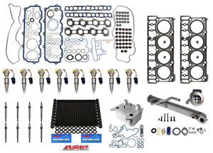 06 07 6 0l Ford Powerstroke Diesel Injector Complete 20mm Resolution Kit 3049