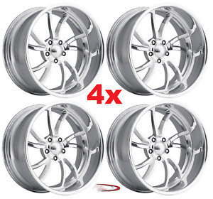 24 Pro Wheels Rims Twisted Ss 5 Billet Forged Aluminum Alloy Custom Intro Foose