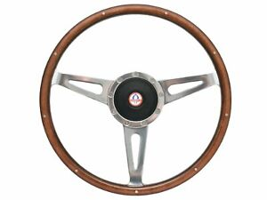 1964 1967 Mustang Shelby Style Steering Wheel Kit W Hub Ford Cobra Emblem
