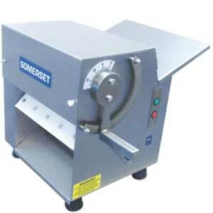 Somerset Cdr 100 Dough Sheeter 1 4 Hp 10 Synthetic Rollers 500 600 Pieces
