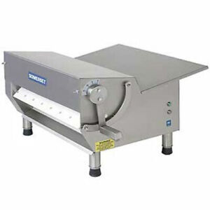 Somerset Cdr 500m Dough Sheeter 1 2 Hp 20 Metal Rollers 500 600 Pieces Per H