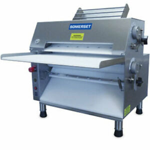 Somerset Cdr 2000m Dough Roller Double Pass Front Operated 3 4 Hp 20 Chrome