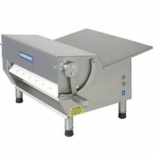 Somerset Cdr 600 Dough Sheeter 3 4 Hp 30 Synthetic Rollers 500 600 Pieces