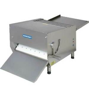 Somerset Cdr 700m Dough Sheeter 20 Metal Rollers 50 Lbs Of Dough 1 Hp Benc