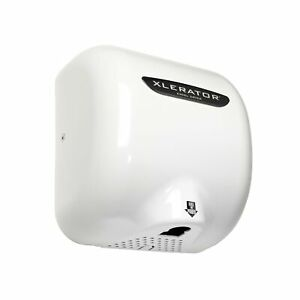 Xlerator Xl bw Automatic High Speed Hand Dryer With White Thermoset Plastic C
