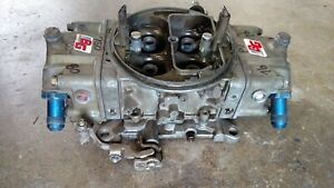 Barry Grant 750 Double Pumper Carburetor Nhra Drag Race