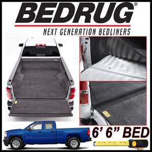 Bedrug Custom Fit Truck Bed Liner Mat For 2007 2018 Chevy Silverado W 6 6 Bed