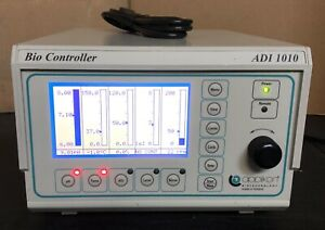 Applikon Biotechnology Adi 1010 Bio Controller Z510100010 Ph Temp Do2 Stir Level