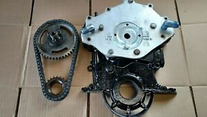 Ford 429 460 1968 97 Timing Cover With Cam Drive And Roller Chain