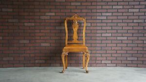 Antique French Carved Chair French Provincial Chair Vanity Desk Chair