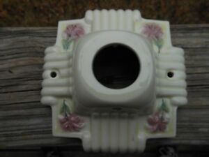 Vintage Porcelain Wall Ceiling Light Fixture 6 X 6