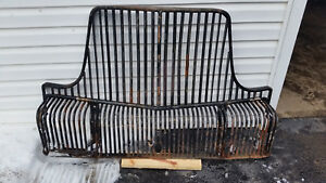 1930 S 40 S Brockway Waterfall Grill Guard White Indiana